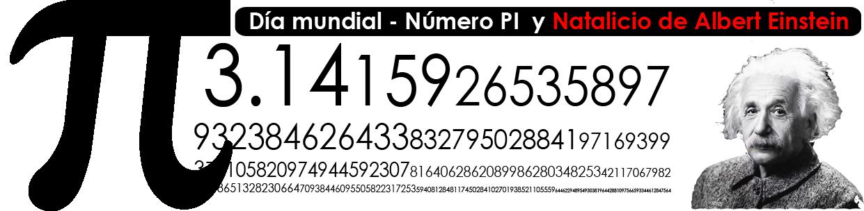 El 14 De Marzo se celebra el día del número Pi